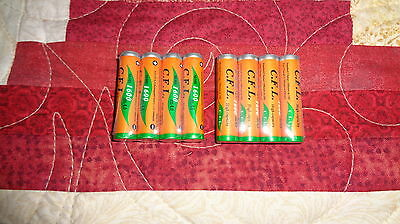 8 NiMH AAA Rechargeable Batteries for Panasonic KXTG Phones HHR-65AAABU Sealed