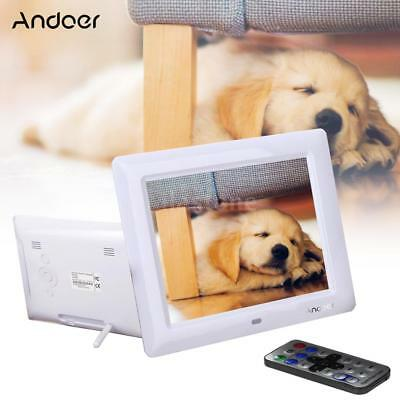 "8""Inch LCD Digital Photo Frame Picture Abulm Calendar Clock MP3 MP4 Movie Player"