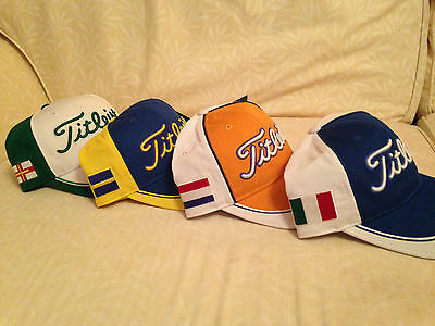 Titleist Limited Edition Guernsey,netherlands,sweden Italy Cap,cheapest Uk Price