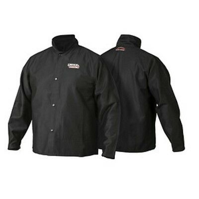 Lincoln K2985 Traditional Flame Resistant Welding Jacket Size Large
