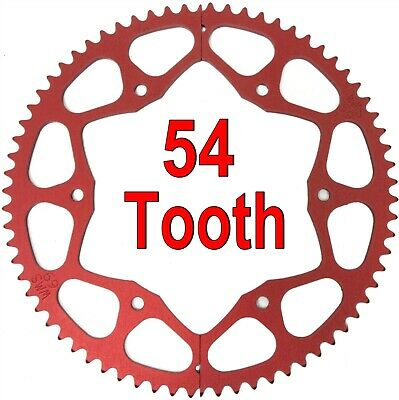 54T (tooth) #35 Chain Split Sprocket Two 2 Piece Gear for Drift Trike Bike Parts