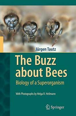 The Buzz about Bees: Biology of a Superorganism by Jurgen Tautz (English) Hardco