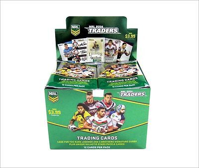 2014 NRL ESP Traders official factory sealed box - 36 packets