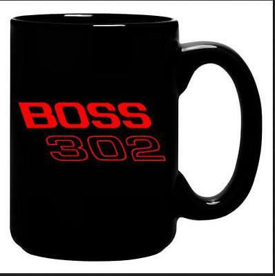 Ford Mustang Boss 302 Pony Car Kaffeetasse XL 0,4 ltr.,Coffee Mug,off. license