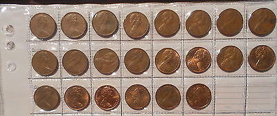 1966 TO 1989 2c Australian Two Cent Collection set includes Rare 1968