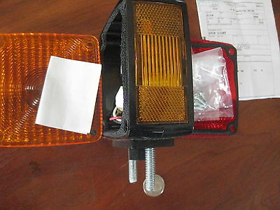 US Military Stop Light Vehicular Directional p/n 476LR  machine truck parts New