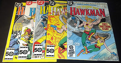 SHADOW WAR OF HAWKMAN SET 1-4,SPEC 1(9.2-9.4)(NM- TO NM)5 ISSUES-DC