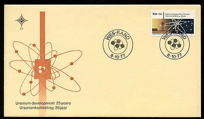 South Africa 1977 Uranium Development FDC First Day Cover #C13685