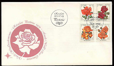 South Africa 1979 World Rose Convention FDC First Day Cover #C13702