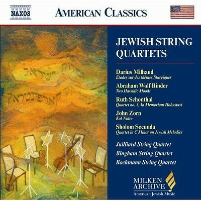 Various Artists - Jewish String Quartets / Various [New CD]