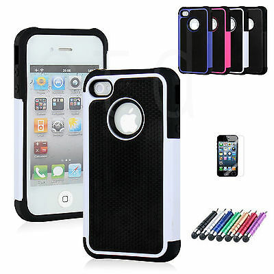Heavy Duty Builders Work Workman Armour Case for iPhone 4 & 4S - *STURDY*