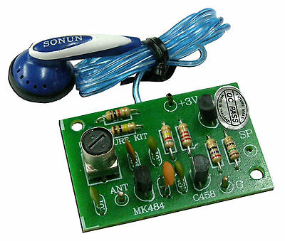 Simple AM Radio [Assembled Project Kit] for electronic student IC MK484 [FA710]