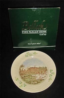 Belleek Collector Plate Archive Collection POTTERY SCENE, Johnson's Hotel, MIB