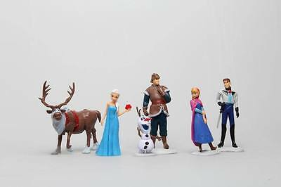 2014 new Hot explosion models Frozen 6 doll ornaments toys for children(only USA