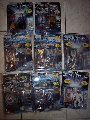 """Star Trek Figures new in sealed packs lot of 8  5"""" tall collectables"""