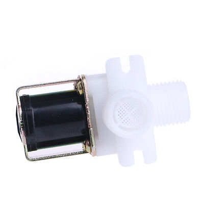 """Hot DC 12V Electric Solenoid Valve Magnetic N/C Water Air Inlet Flow Switch 1/2"""""""
