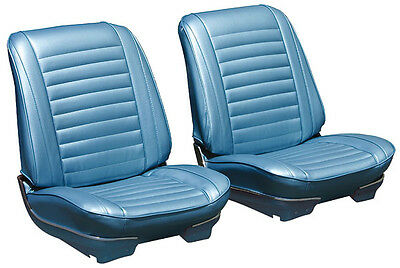 1967 Oldsmobile Cutlass Cpe/Conv Bucket Seat Cover Set -Authentic Reproduction