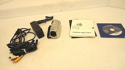 EXCELLENT Sony Handycam DCR-SX41 8 GB Flash Camcorder w/ 60x Optical Zoom