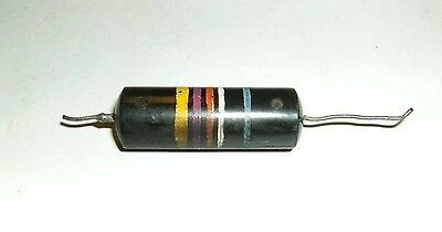Vintage Sprague Bumble Bee Capacitor .047 uf 600v 1950's 1960's