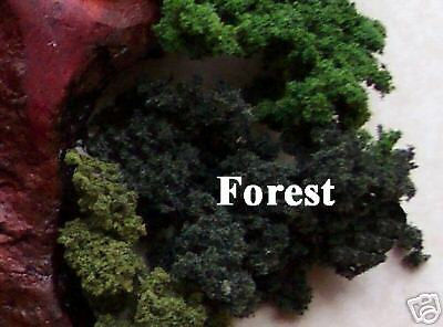 M00107 MOREZMORE Faux Fake Artificial Moss FOREST Conifer Green Woodland Scenics