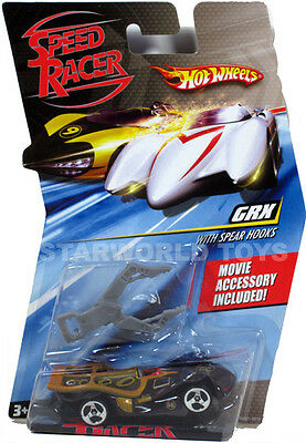 Hot Wheels Speed Racer 1:64 GRX with Spear Hooks  with MOVIE ACCESSORY 2007