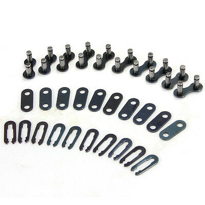 10x Bicycle Bike Single Speed Quick Chain Master Link Joint Connector Fit 1-3S