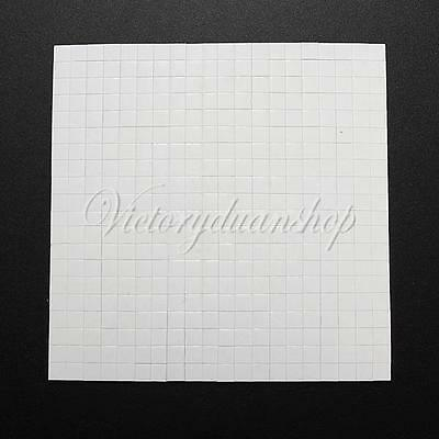 400 Double Sided Adhesive Foam Pads Sticky Fixers For Card Craft Making 5x5x2mm