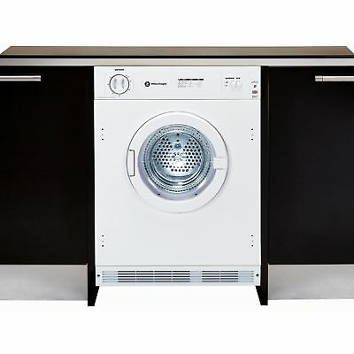White Knight C4317WV Intergrated 7Kg Vented Tumble Dryer Reverse Action White