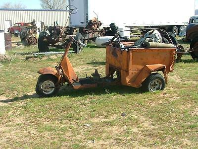Cushman 3 wheeler Pick-Up vintage collectible motorbike