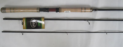 "Sheffield Drii 13'4"" Graphite Float Fishing Rod 3-Pc Fixed Reel Seat Cork Handle"