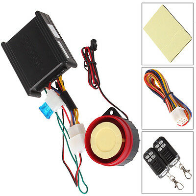 Motorcycle Anti-Theft Security System Universal 12V Remote Start Engine Kill New