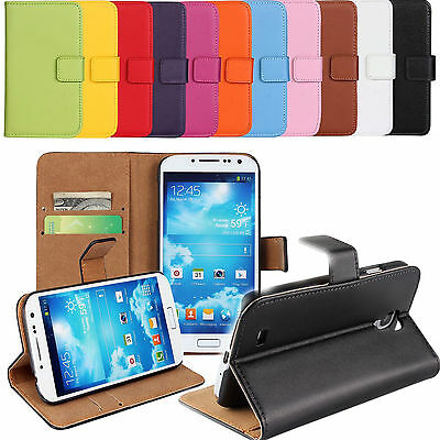 PU Leather Flip Stand Wallet Card Case Cover for Samsung Galaxy S3 S4 S5 S6
