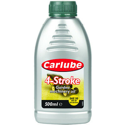 4 Stroke Lawnmower Oil And Garden Machinery Oil Sae30 500Ml