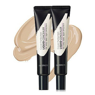 [THE SAEM] Cover Perfection Liquid Concealer (SPF30/PA++) 2 Color 15ml