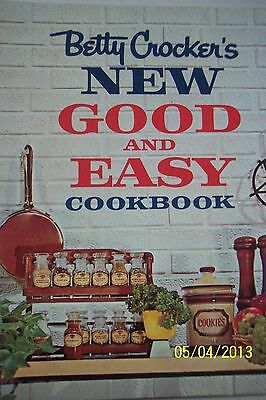 BETTY CROCKER'S NEW GOOD AND EASY COOK BOOK SPIRAL BOUND 1962 1ST ED. 12TH PRINT