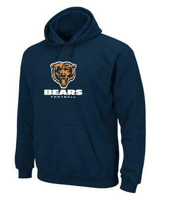 Chicago Bears Hoodie Hoody Critical Victory Majestic,NFL Football,Gr.M