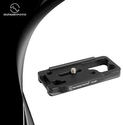Sunwayfoto PC-6D Custom Quick-Release Plate for Canon 6D DSLR Camera Mfr # PC-6D
