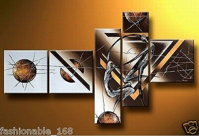 MODERN ABSTRACT HUGE WALL ART OIL PAINTING ON CANVAS(no framed)