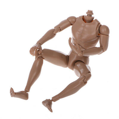 Narrow Shoulder 1:6 Scale Action Figure Nude Male Body Fit HOT Toys TTM18 TTM19
