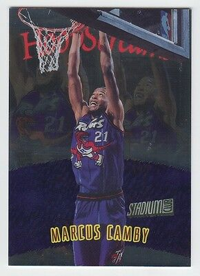 1997-98 STADIUM CLUB MEMBERS ONLY MARCUS CAMBY HOOPS SCREAMS #HS8 RARE