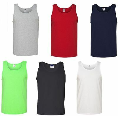 Fruit of the Loom - Heavy Cotton HD Cotton Tank Top - 39TKR - Gym  Tank Top