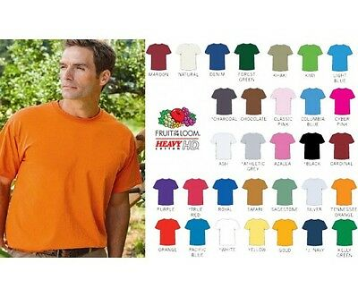 Fruit of the Loom T shirts - Heavy Cotton HD T-Shirt - 3930R - New Colors S-6XL