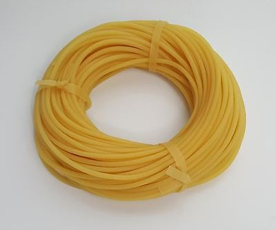 """10 Feet - 1/8"""" - Latex Rubber Tubing - Surgical Grade - New"""