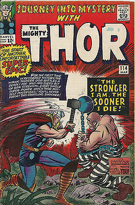 Journey Into Mystery  #114  VG/FN  1st Absorbing Man!