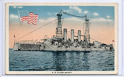 MILITARY VESSEL,SHIP-U.S.S. NEW JERSEY,UNITED STATES WARSHIP