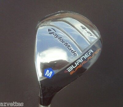 NEW! Men's #4 Senior [LH] TaylorMade Burner Superlaunch Rescue Hybrid Golf Club