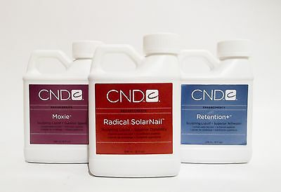 CND Creative Nail Design Acrylic Nail Liquid 8oz/236mL of  Your Choice