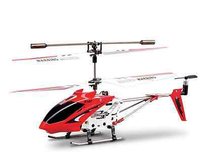 Syma S107G Red 3-Channel 3.5CH Mini Remote Control RC Helicopter Gyro Genuine xp
