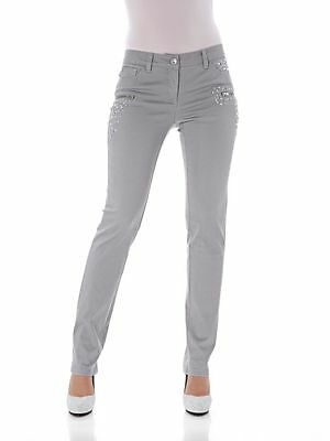 NEU!! Blau denim MANDARIN by heine KP 69,90 € SALE/%/%/% Jeans