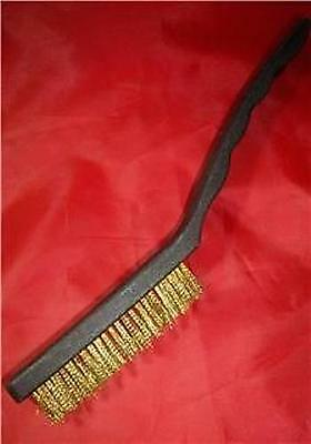 Wire Brushes Choice Of Brass Or Steel Diy Rust Remover Removal Metal Brush